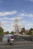 Navegue la nave Imagen de archivo libre de regalías