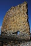Navegue a rocha na costa do Mar Negro. Fotos de Stock