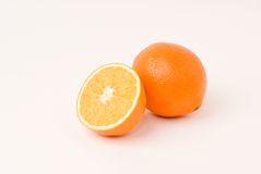 Navel orange Stock Photo