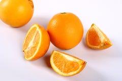 Navel orange. Isolated on white background Royalty Free Stock Image