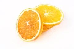 Navel orange. Slice of fresh orange china Stock Image
