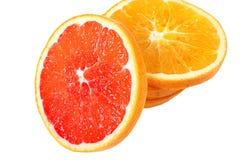 Navel orange. Slice of fresh orange china Royalty Free Stock Image