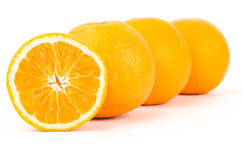 Navel orange fruit Royalty Free Stock Images