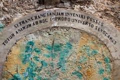 Navelli, μια μεσαιωνική πόλη στο Abruzzo, Ιταλία Στοκ φωτογραφία με δικαίωμα ελεύθερης χρήσης