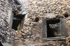 Navelli en medeltida stad i Abruzzo, Italien Royaltyfri Foto