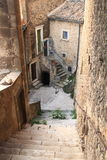 Navelli, a medieval town in Abruzzo, Italy Royalty Free Stock Photo