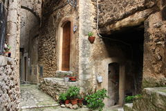 Navelli, a medieval town in Abruzzo, Italy Stock Photos