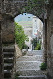 Navelli, a medieval town in Abruzzo, Italy Royalty Free Stock Photos