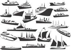 Naves Foto de archivo libre de regalías
