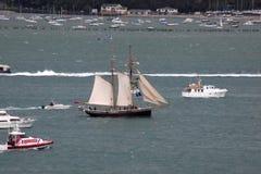 Naves altas en Auckland Imagen de archivo libre de regalías