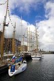 Naves altas en Liverpool el 20 de julio de 2008 Foto de archivo libre de regalías