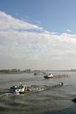 Naves con el cargo Imagen de archivo