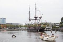 Naves de Amstel fotos de archivo