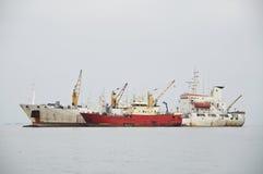 Naves de la carga Imagen de archivo