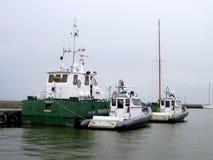 Naves de la frontera, Lituania Foto de archivo