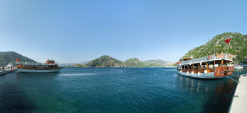 Naves de visita turístico de excursión Imagen de archivo