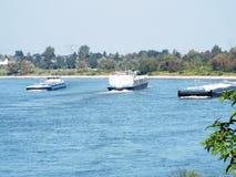 Naves del Rin Fotos de archivo