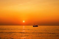Naves en el mar Fotografía de archivo libre de regalías