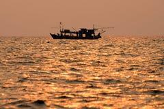 Naves en el mar Foto de archivo libre de regalías