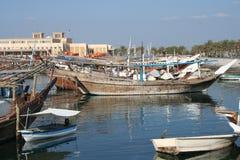 Naves en el mar del golfo Foto de archivo