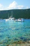 Naves en la bahía, Montenegro imagenes de archivo