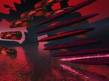 Naves espaciais do charuto Fotografia de Stock