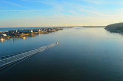 Navesink et Océan Atlantique Photo libre de droits