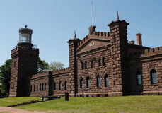 Navesink Twin lights Stock Photo