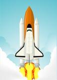 Navetta spaziale illustrazione di stock