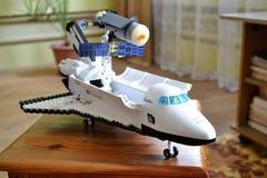 Navetta spaziale da Lego immagini stock libere da diritti