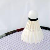 Navette de badminton Image stock