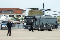 Navette de VIP sur l'aérodrome Photos libres de droits