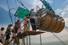 Navette Pattaya de vitesse d'aventure photo libre de droits