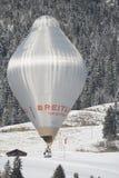 Navette spatiale de Breitling au château de festival de ballon  Images libres de droits