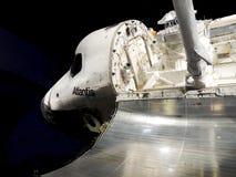 Navette spatiale l'Atlantide Photographie stock