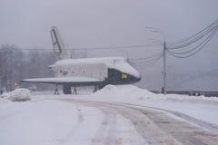 Navette spatiale soviétique Buran Image libre de droits
