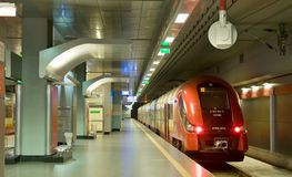 Navettes d'aéroport - Varsovie Image libre de droits