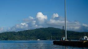 Navi che riposano al porto o al porto Fotografia Stock Libera da Diritti