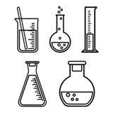 Navi chimiche, progettazione del profilo Illustrazione di vettore illustrazione vettoriale