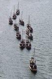 Navi del porto Fotografia Stock