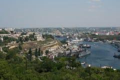Navi del porto del porto Immagine Stock Libera da Diritti
