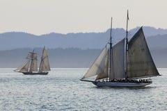 Navi di navigazione dell'oceano   Fotografia Stock Libera da Diritti