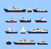 Navi messe illustrazione vettoriale