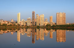 Navi Mumbai. India - 6 December 2015:  is planned suburb built across sea on main land to reduce Mumbai congestion stock photos