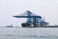 Navi a Northport, Klang, Malesia immagini stock