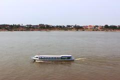 Navi passeggeri Fotografia Stock