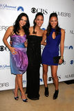 Navi Rawat, Sophina Brown, Aya Sumika. Navi Rawat, Sophina Brown, & Aya Sumika arriving at the Numb3rs 100th Episode Party at the Sunset Tower Hotel in West Stock Photos