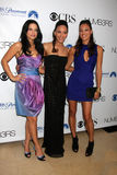 Navi Rawat,Sophina Brown,Aya Sumika Royalty Free Stock Photos
