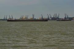 Navi sul Danubio 5 fotografia stock libera da diritti