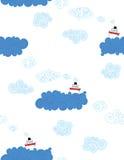 Navi sul mare royalty illustrazione gratis
